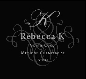 Rebecca K Sparkling Brut NV North Coast 750ml